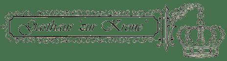 """Gasthaus """"Zur Krone"""" - Logo"""